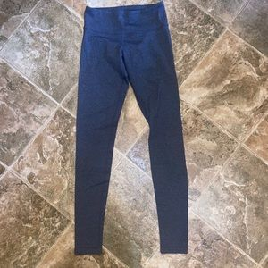 Lululemon Gray Wunder Under Leggings